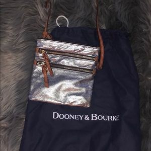 Authentic Dooney & Bourke cross body bag